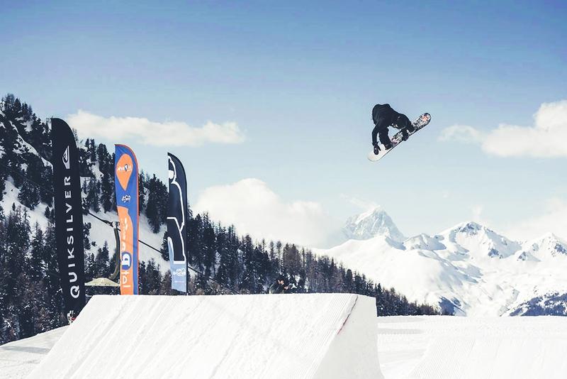 Apre lo snowpark di Pila, partner di JetPark
