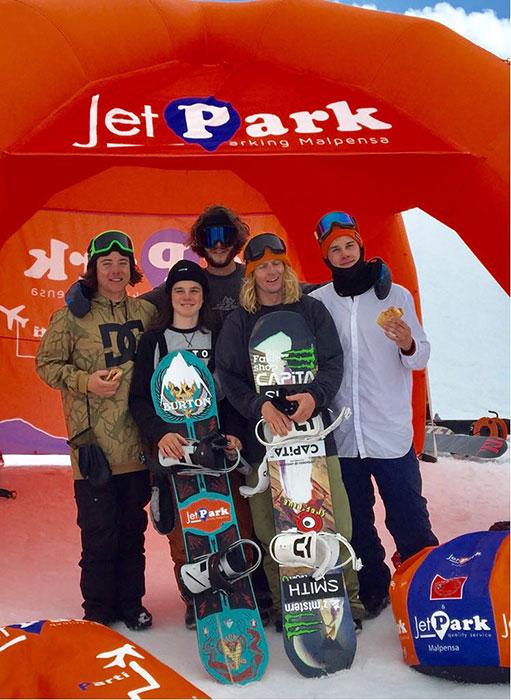 Il team Jetpark sempre più vincente